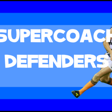 supercoach defenders 2016