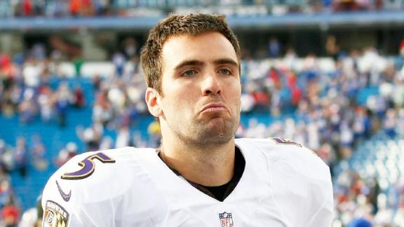 Joe Flacco is going to have to dig deep to get the Ravens out of this one